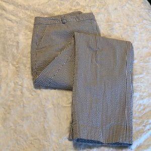 Women's Jones New York seersucker pants sz10